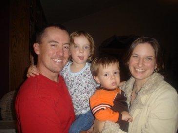 Brandon, Sarah, Lydia, and Elvis