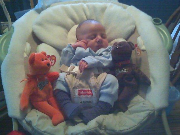 Newborn Elvis Elijah Davis